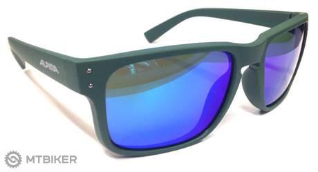 0f1bd9043 Alpina okuliare KOSMIC tmavo zelené matné - MTBIKER Shop
