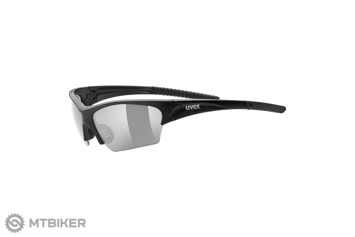 Uvex Sunsation okuliare čierna mat/smoke