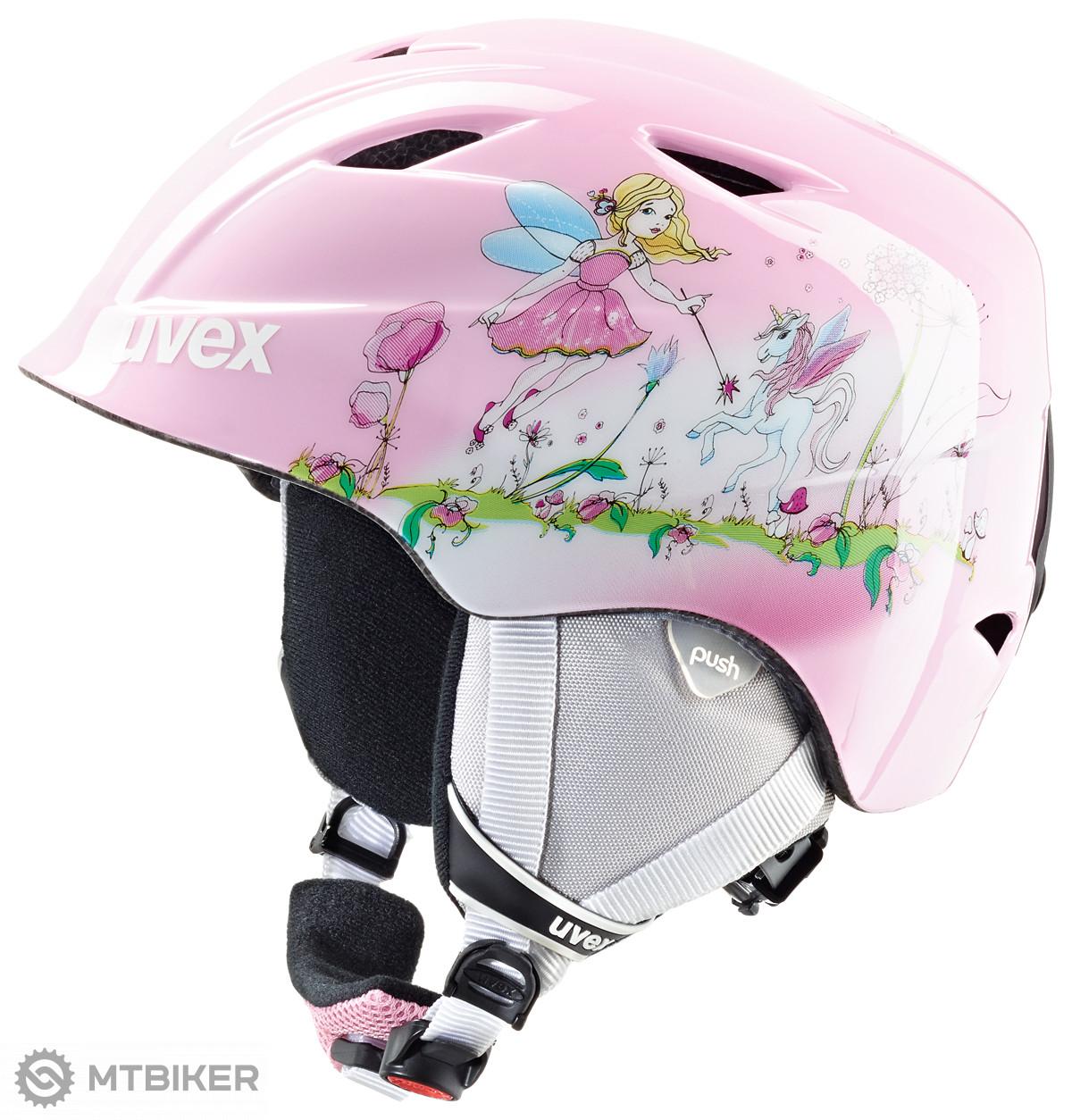 UVEX Airwing 2 Fairy lyžiarska prilba detská - MTBIKER Shop 74df4623495