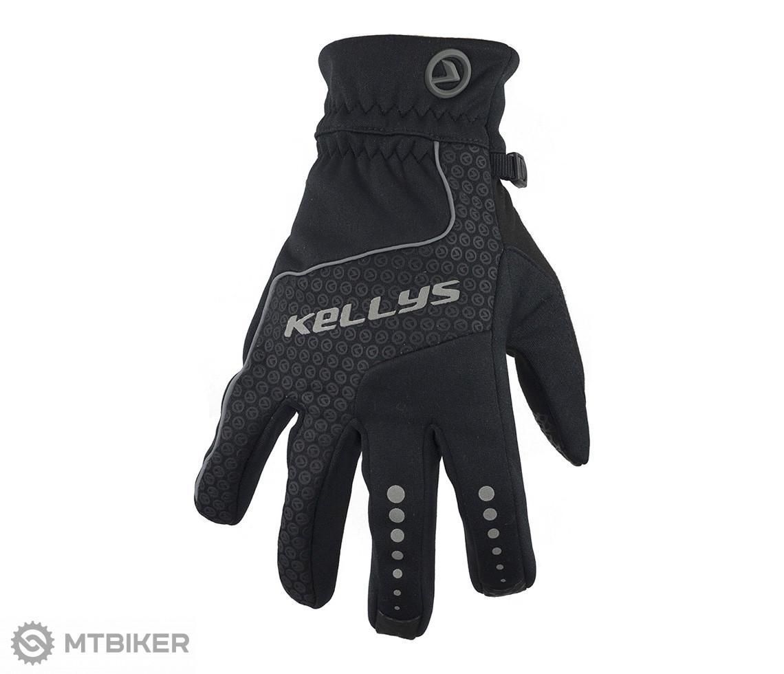 Kellys Zimné rukavice Coldbreaker, čierne