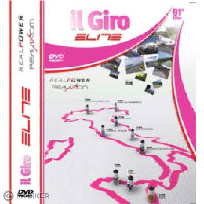 Elite trať - DVD COLLECTION GIRO D ITALIA 2008