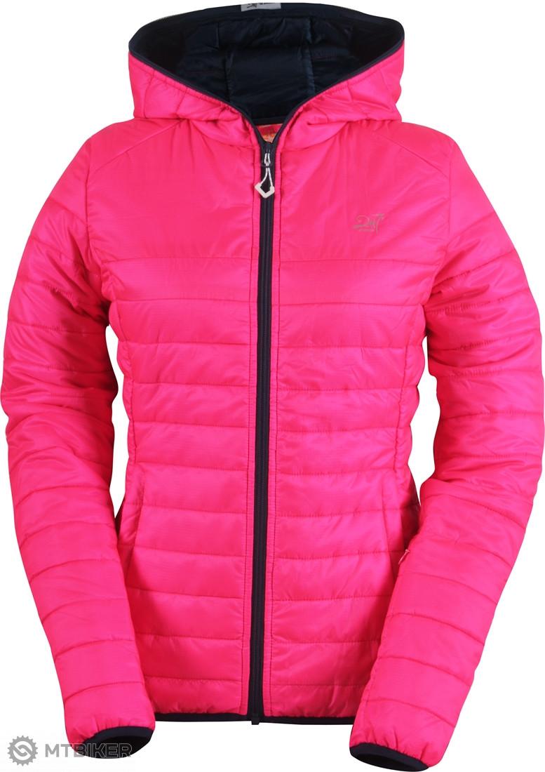 2117 of Sweden SVANSELE ECO dámska jemne zateplená bunda signal ružová 8cbb9a35289