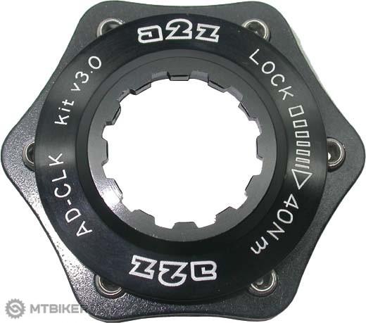 A2Z CLK Centerlock-6dier, adaptér čierny