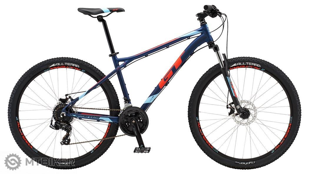 GT Aggressor Sport 2018 navy blue horský bicykel
