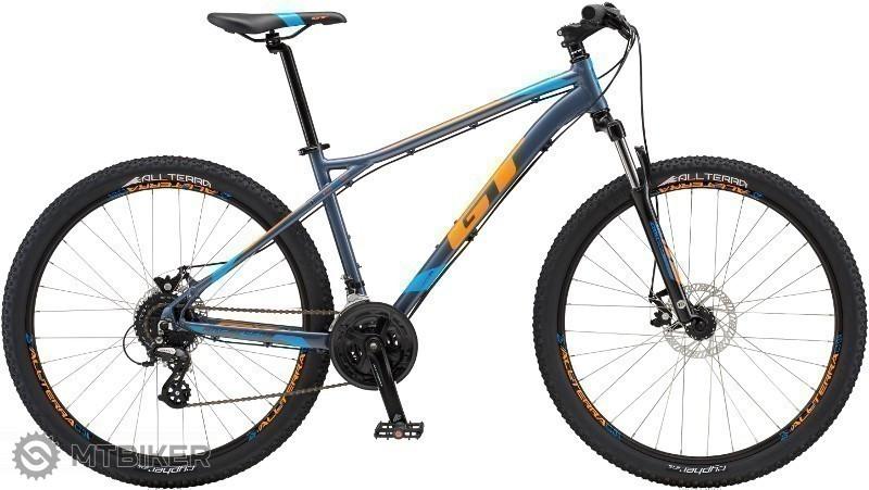 GT Aggressor Comp 2018 blue horský bicykel
