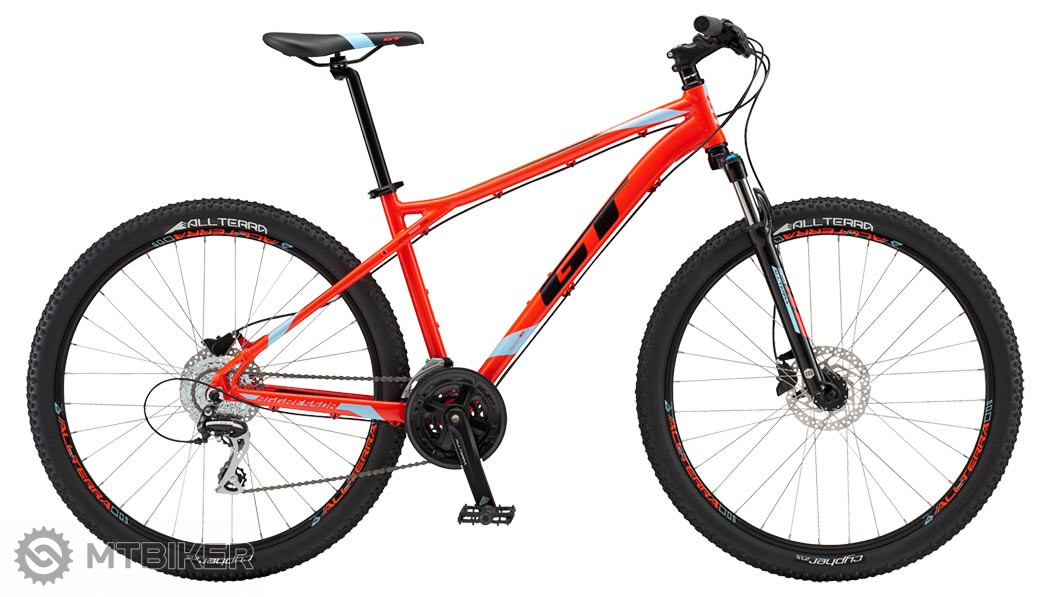 GT Aggressor Expert 2018 red horský bicykel