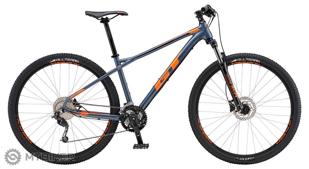 GT Avalanche 27,5 Comp blue horský bicykel, model 2018