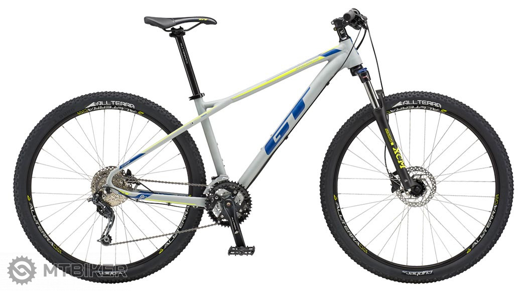 GT Avalanche 27,5 Comp 2018 battle grey horský bicykel