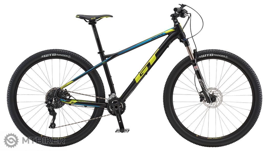GT Avalanche 29 Expert 2018 satin black horský bicykel
