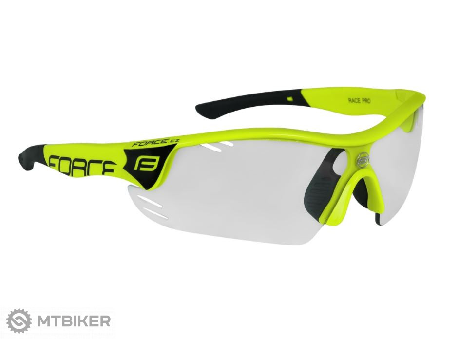 858b2312b Force Race Pro cyklistické okuliare fluo/fotochromatické sklá ...