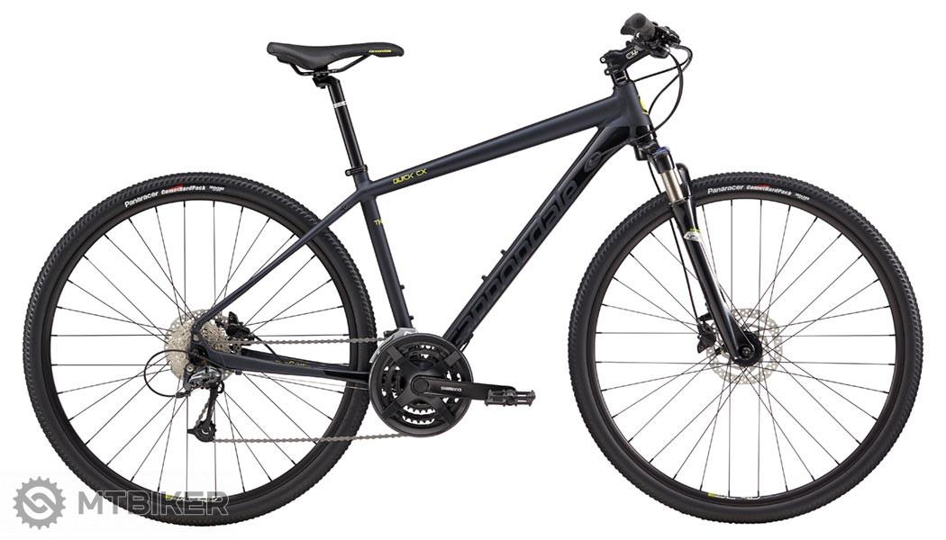 Cannondale Quick CX 3 2018 Gloss Jet Black trekingový bicykel