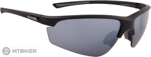 Alpina okuliare TRI-EFFECT 2.0 čierne matné - MTBIKER Shop 3bfff523b57