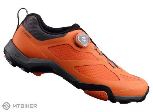 Shimano tretry SHMT700 oranžové