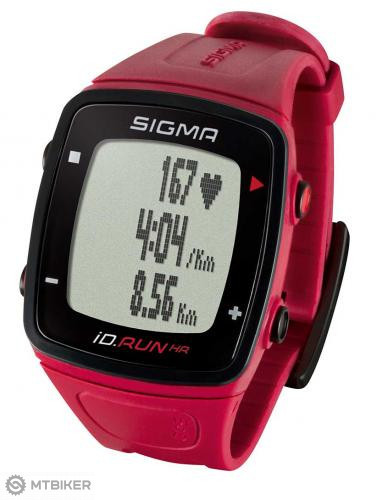 Sigma pulzmeter iD.RUN HR rouge