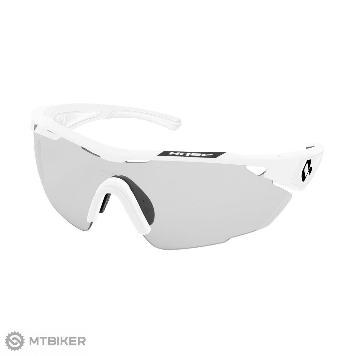 Hqbc okuliare QX3 PLUS biele Photochromic