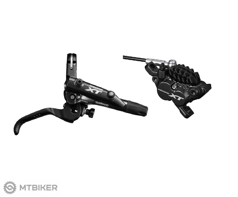 Shimano brzda hydr. XT M8000/8020 zadná čierna Post Mount 1700mm had.+plat. H01A