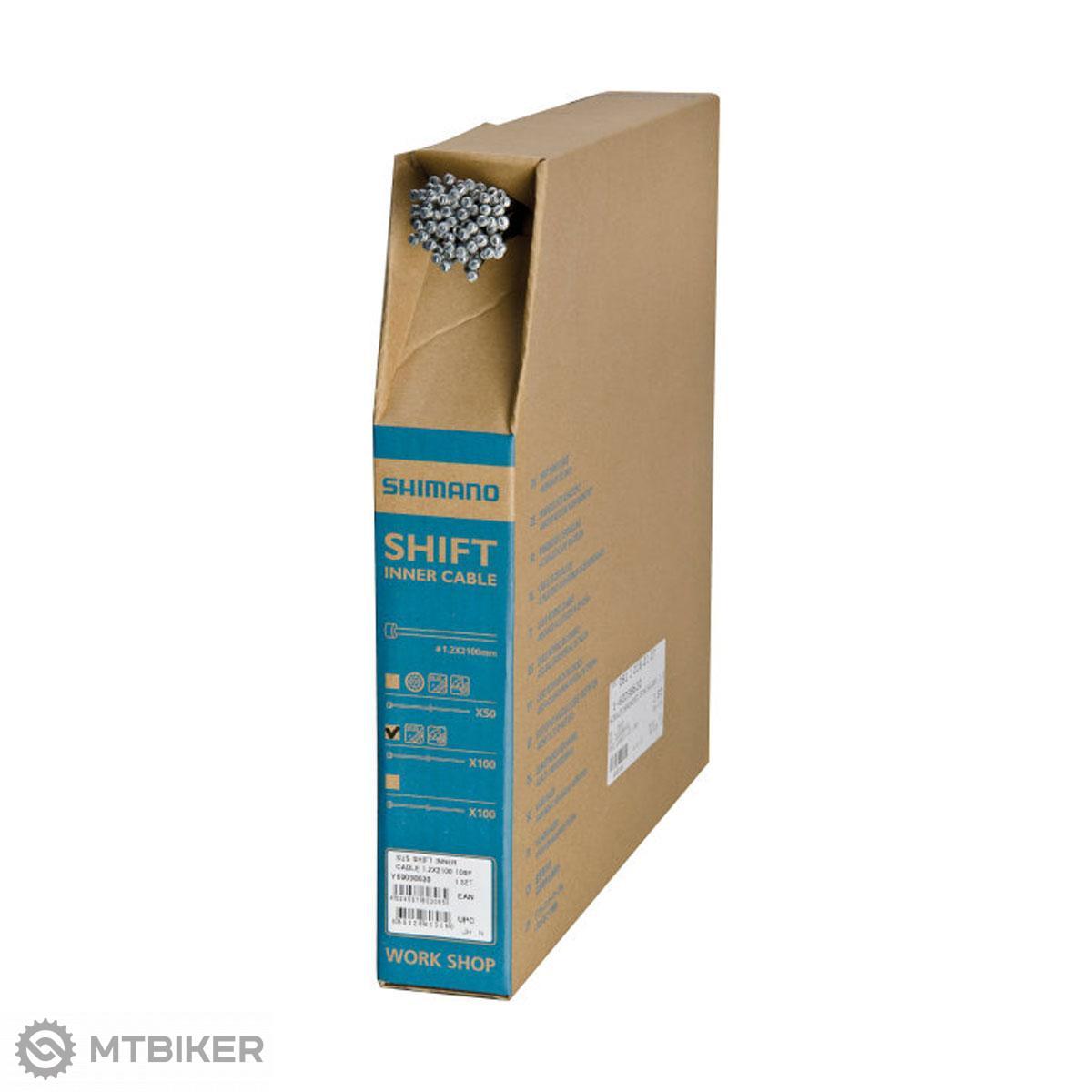 Shimano lanko radiace 1,2x2100 mm nerezové