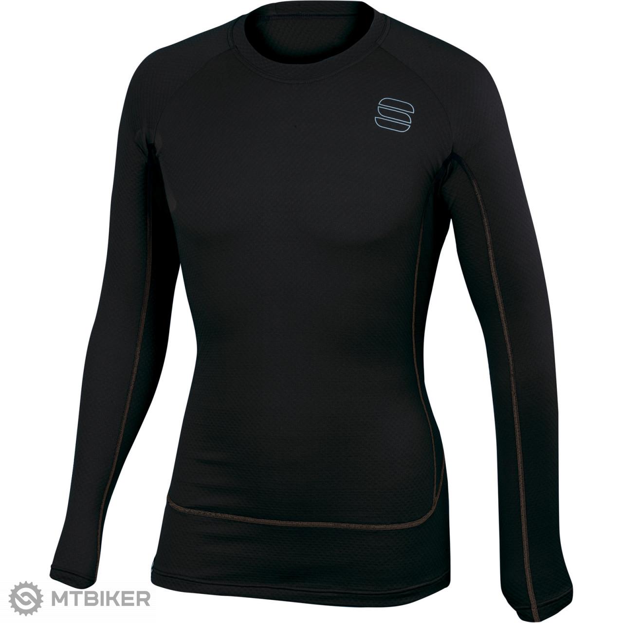 9cde1d0c275a Sportful TD Mid Termo tričko dlhý rukáv čierne - MTBIKER Shop