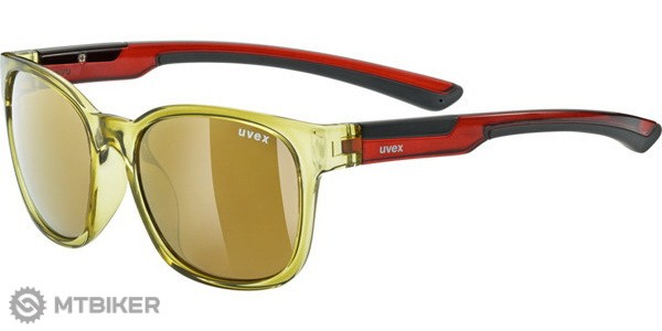Uvex LGL 31 Pola okuliare khaki polarized mirror gold b1926c33165