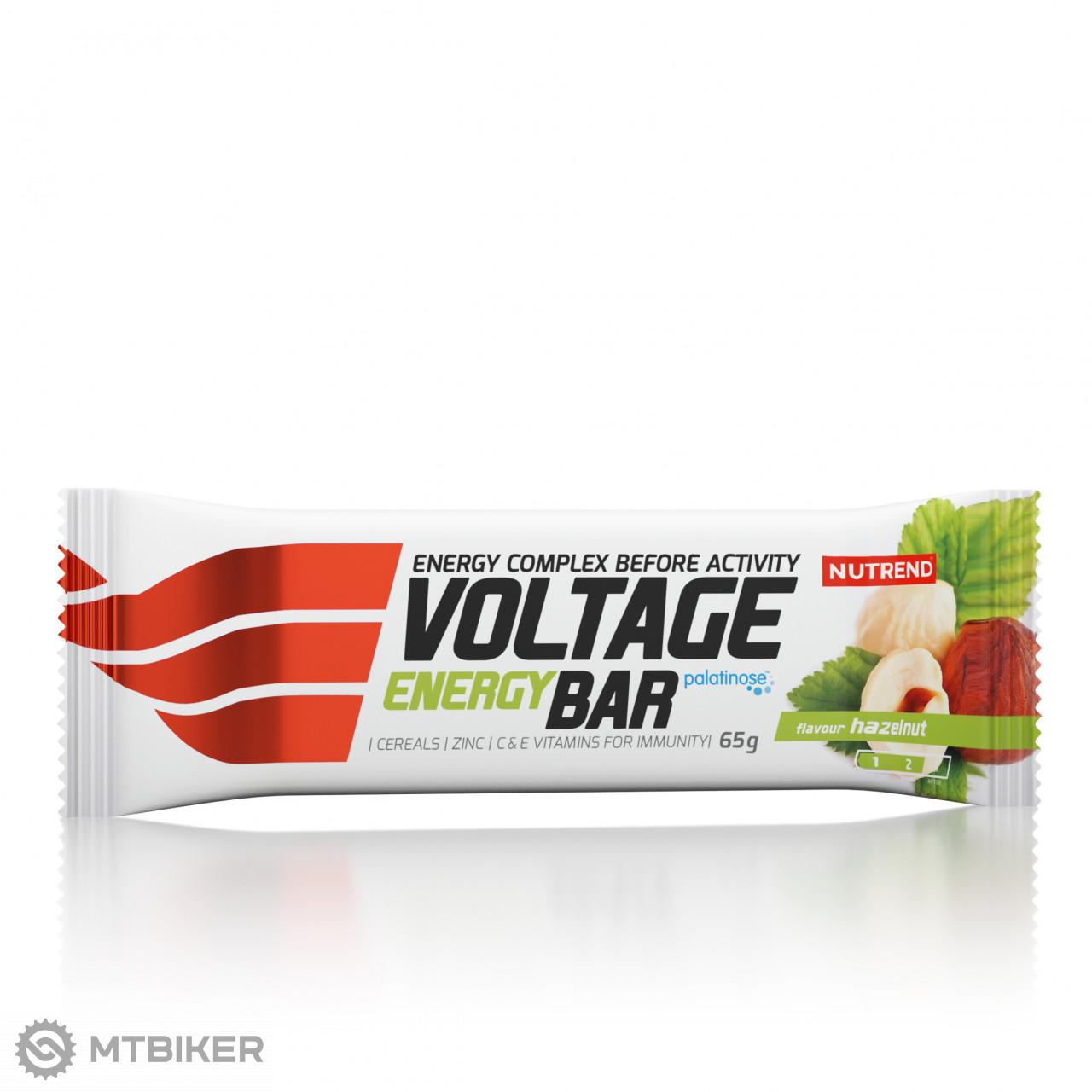 Nutrend tyčinka Voltage Energy Cake 65 g