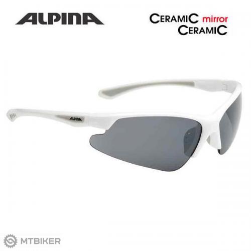 Alpina okuliare LEVITY biele - MTBIKER Shop 272cfed13bb