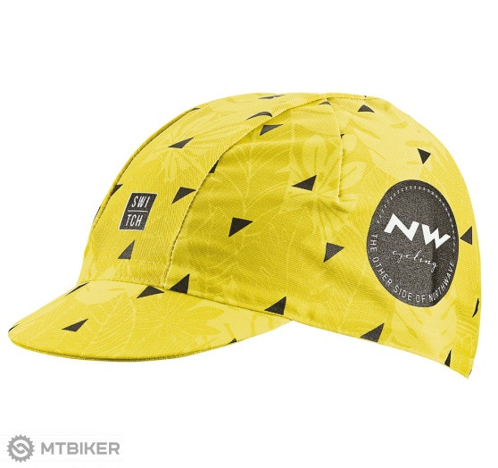 Northwave Cap Rough Line cyklo čiapka žltá