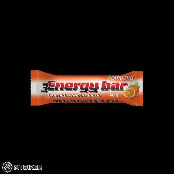 Kompava 3Energy bar 40 g/1 ks