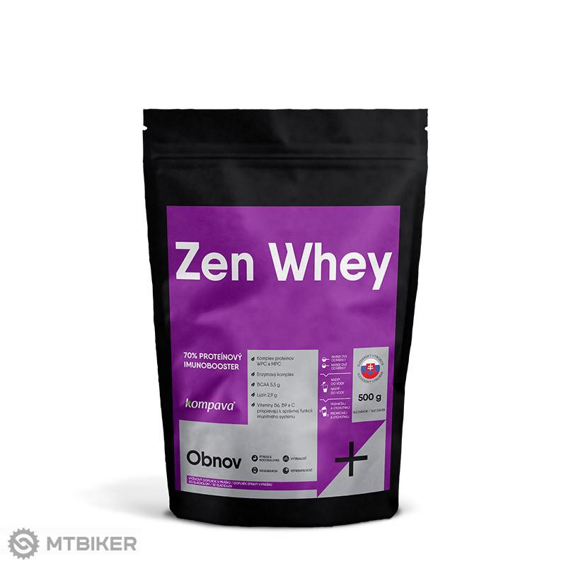 Kompava Zen Whey 70% 500 g / 16 dávok