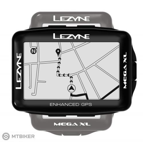 Cyklopočítač Lezyne Mega XL GPS