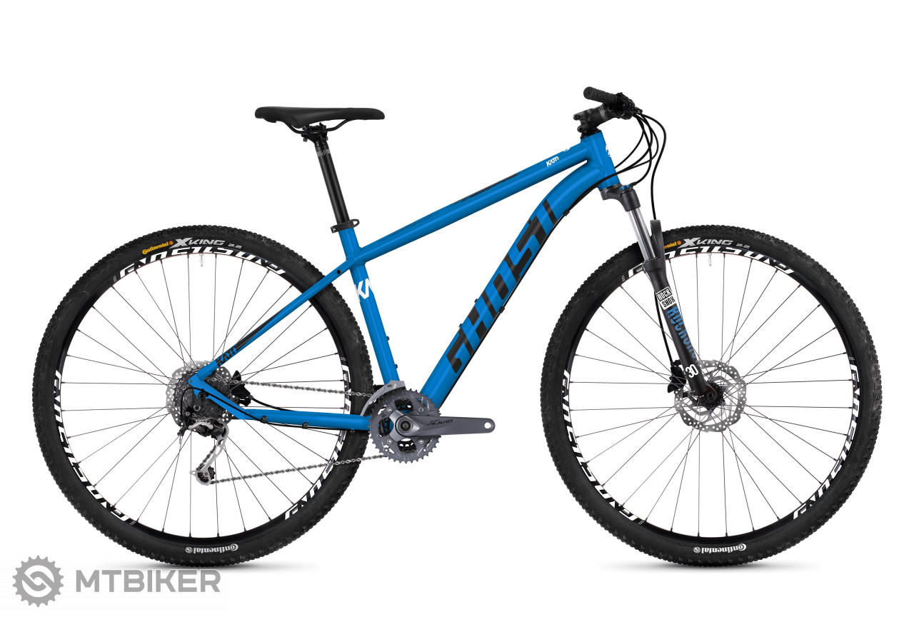Ghost Kato 5.9 AL vibrant blue / night black / star white, model 2019