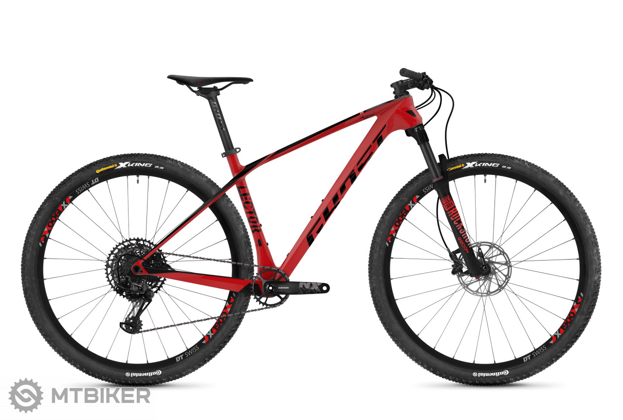Ghost Lector 3.9 LC riot red / jet black, model 2019