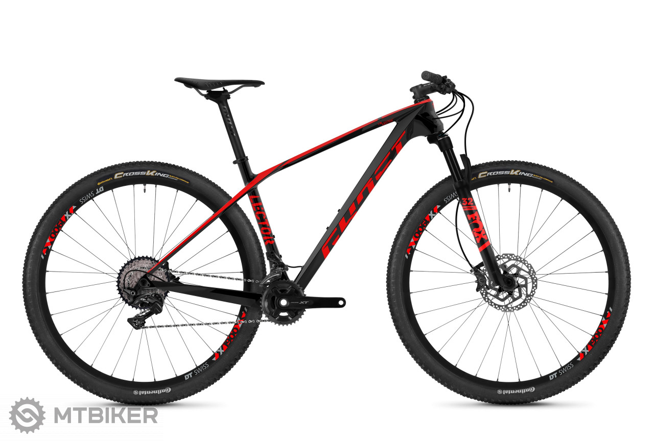 Ghost Lector 4.9 LC night black / fiery red, model 2019