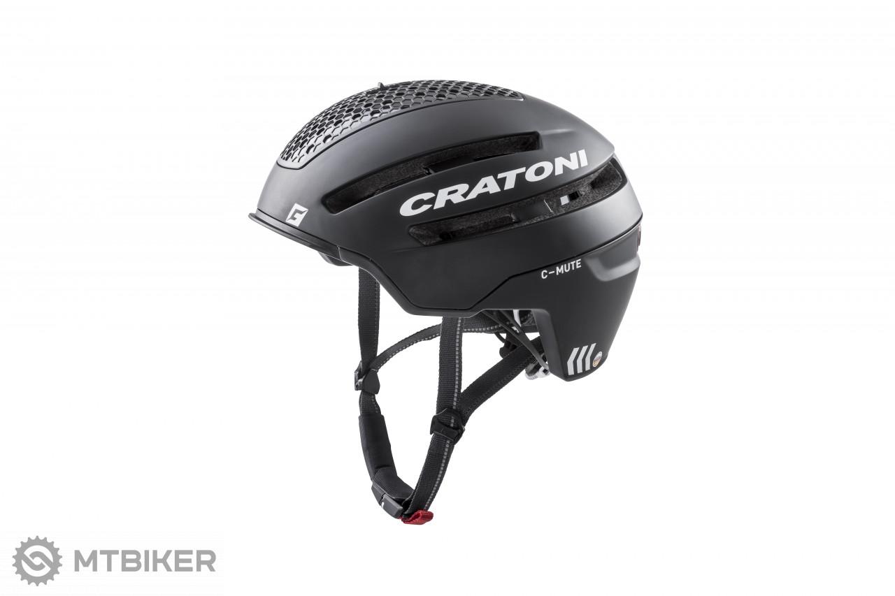 Cratoni C-MUTE prilba | Black Matt, model 2020