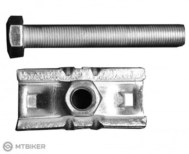 Peruzzo Siena skrutka s oceľovým plátom pre nosiče