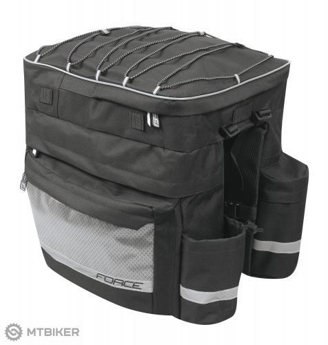 Force taška TARGET na zadný nosič, trojbrašňa