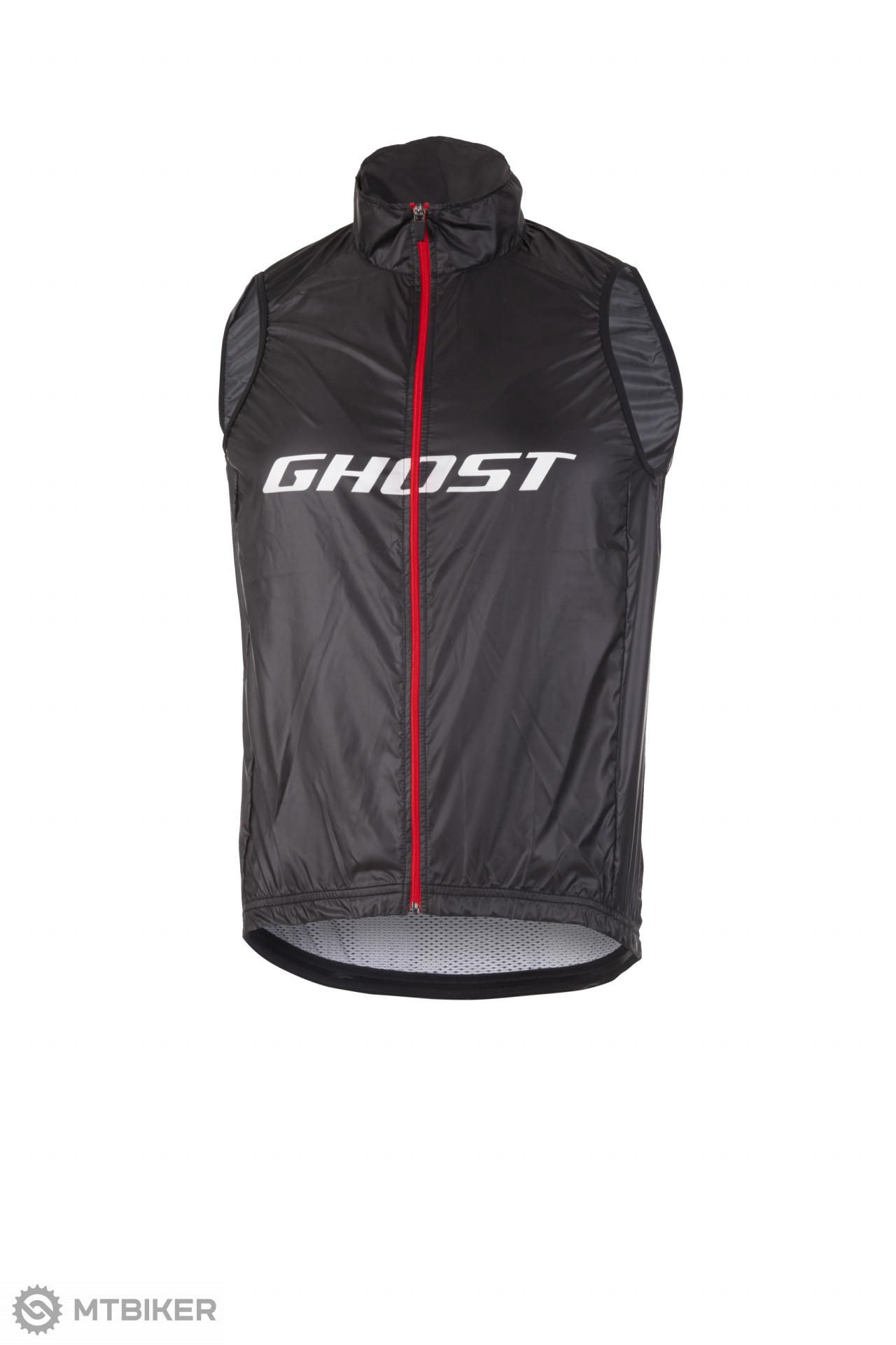 Ghost Vesta / Vest Factory Racing čierna/ červená/ biela, model 2019
