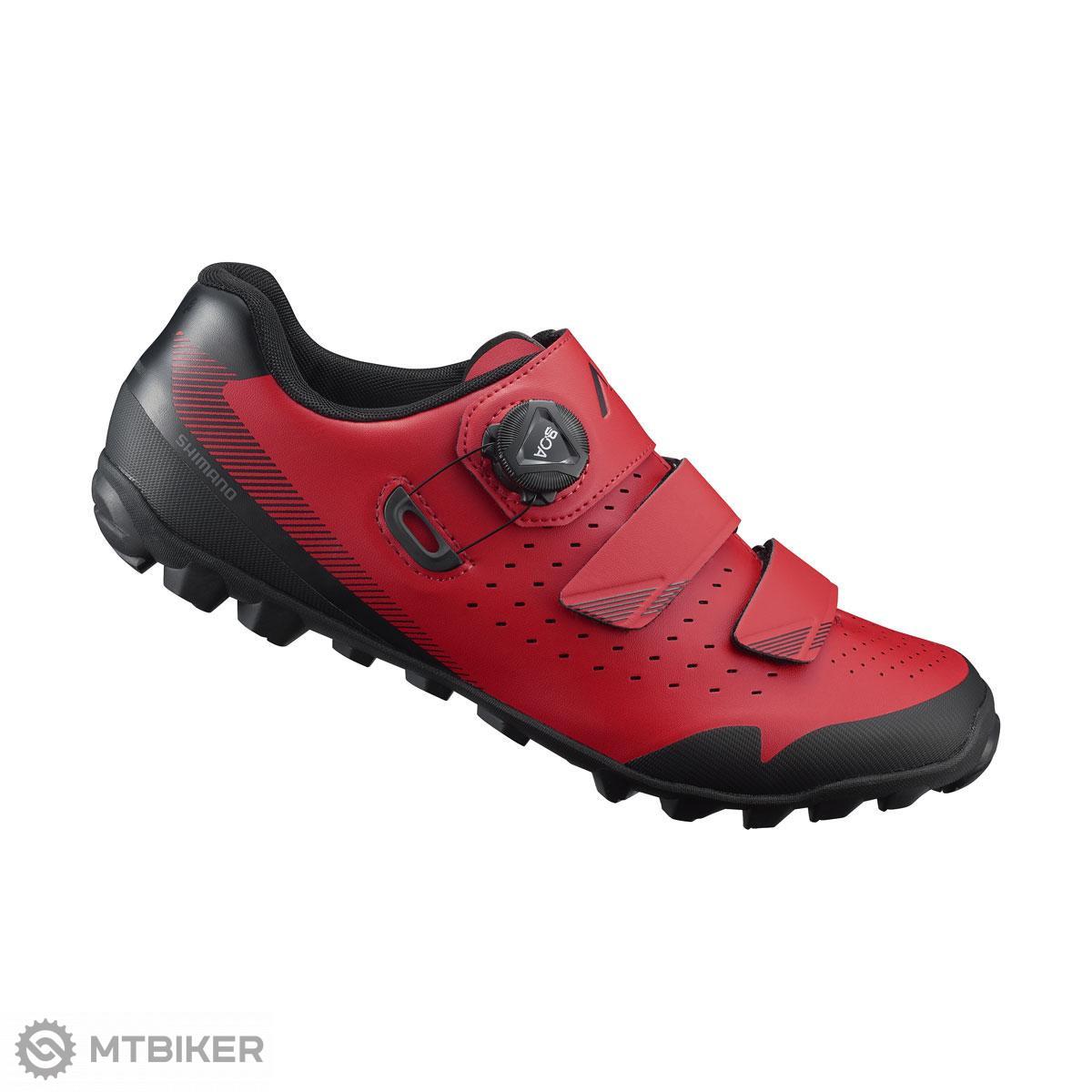 Shimano tretry SHME400 červené