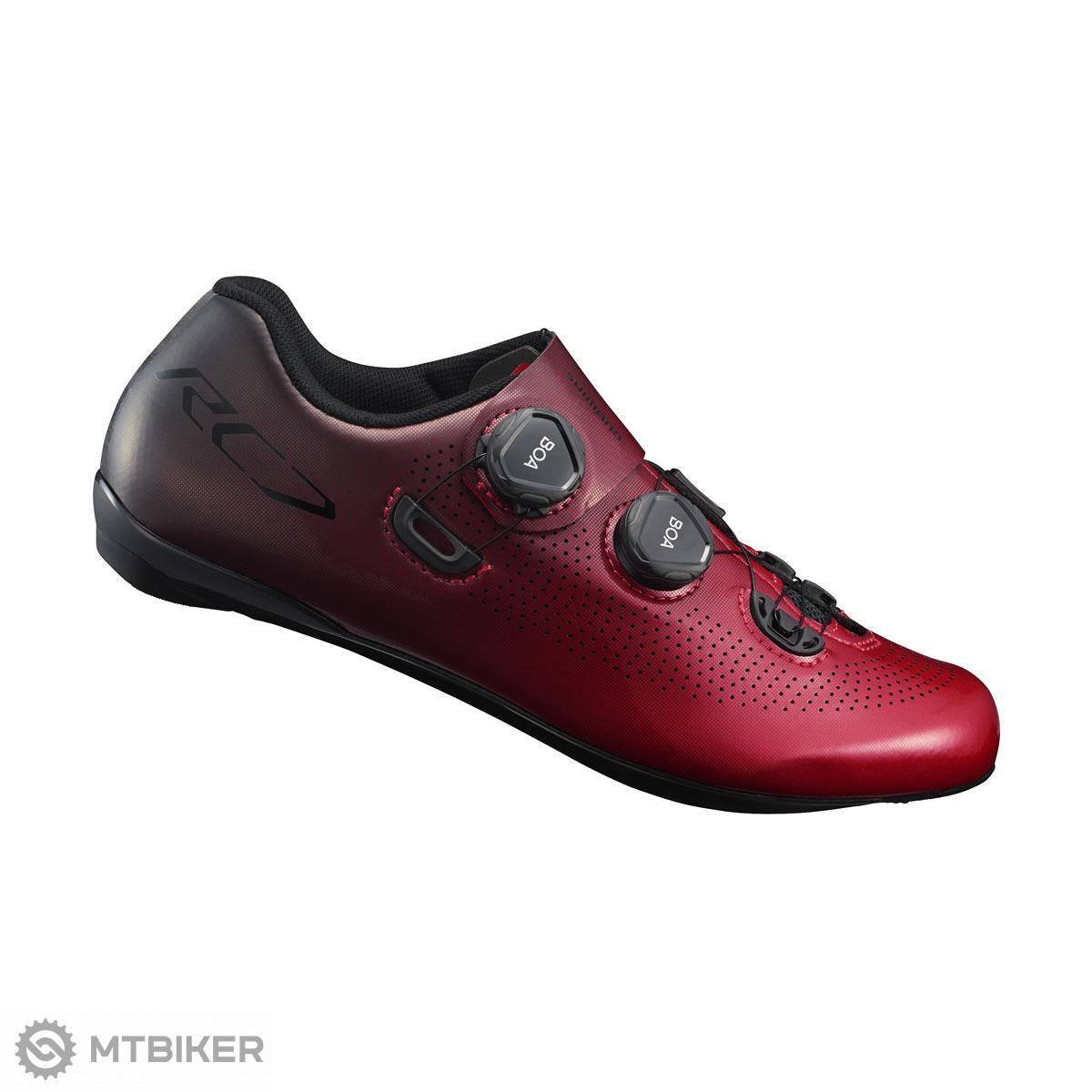 Shimano tretry SHRC701 červené