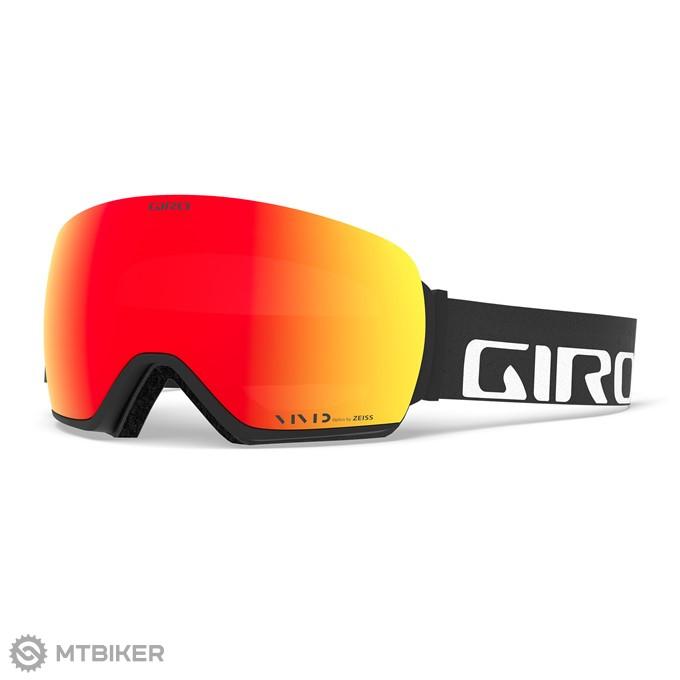 GIRO Article Black Wordmark Vivid Ember Vivid Infrared (2Sklá) lyžiarske  okuliare 933f51085d8