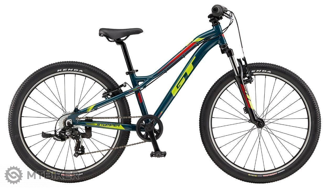 GT Stomper 24 Prime 2019 modrý, detský bicykel