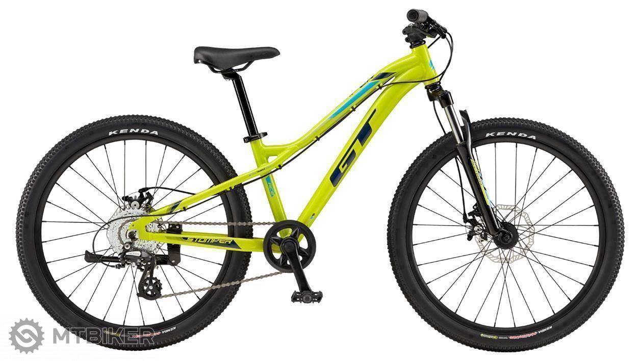 GT Stomper 24 Ace 2019 žltý, detský bicykel