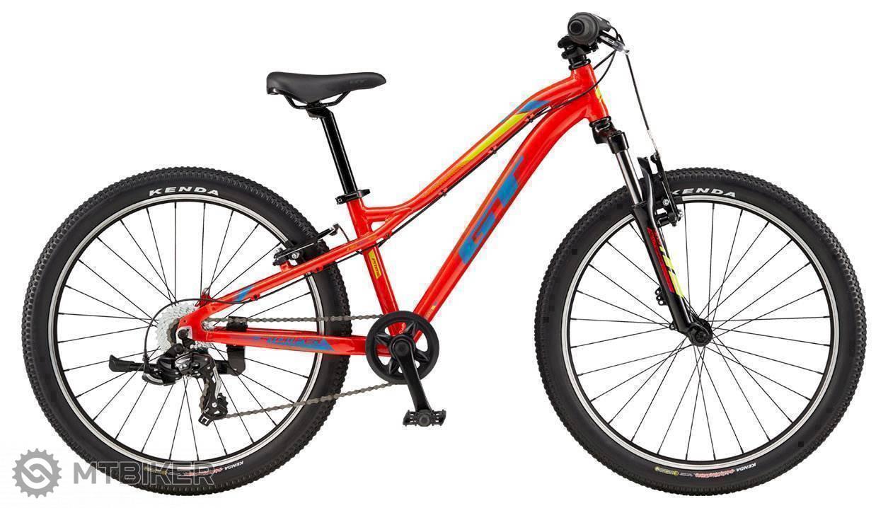 GT Stomper 24 Prime 2019 červený, detský bicykel