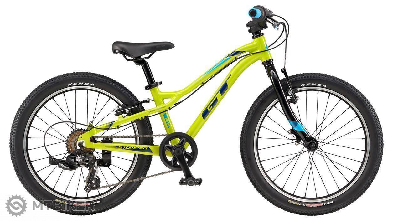 GT Stomper 20 Ace 2019 žltá, detský bicykel