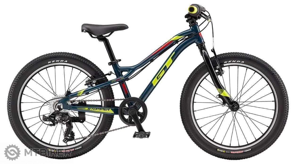 GT Stomper 20 Prime 2019 modrý, detský bicykel