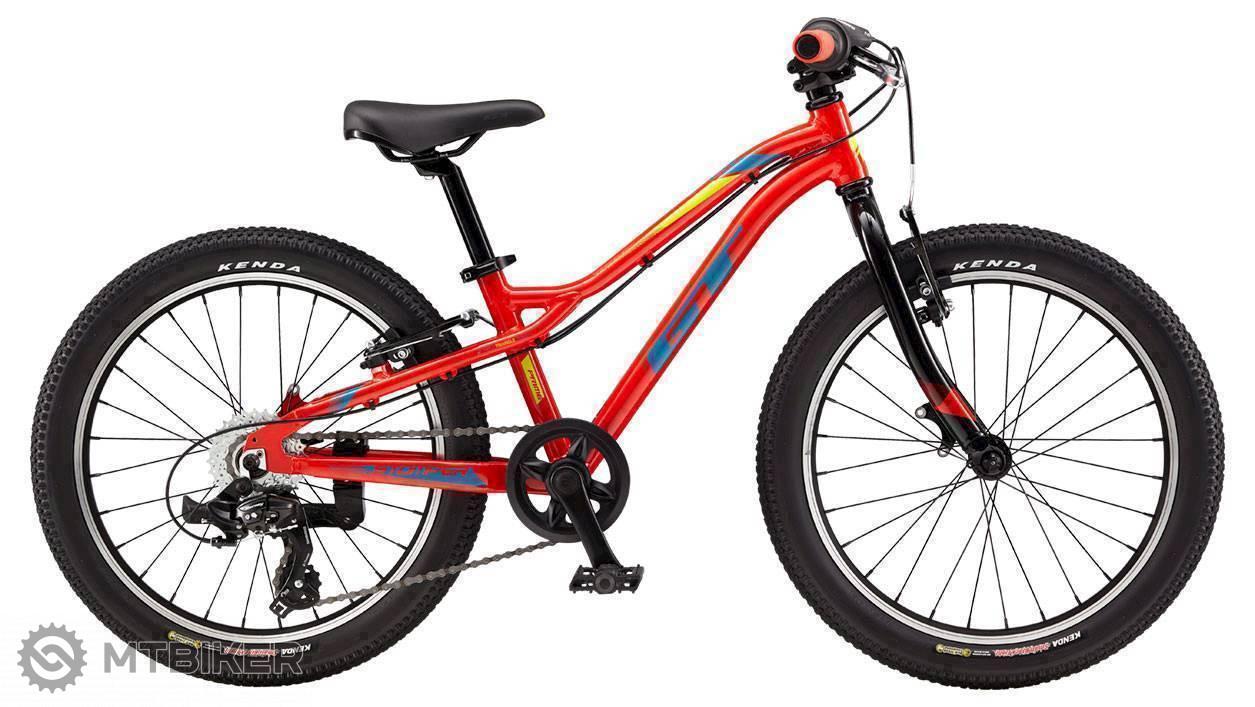 GT Stomper 20 Prime 2019 červený, detský bicykel