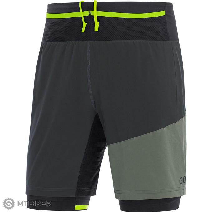 191dcefc718d GORE R7 2in1 Shorts krátke nohavice terra grey castor grey XL ...