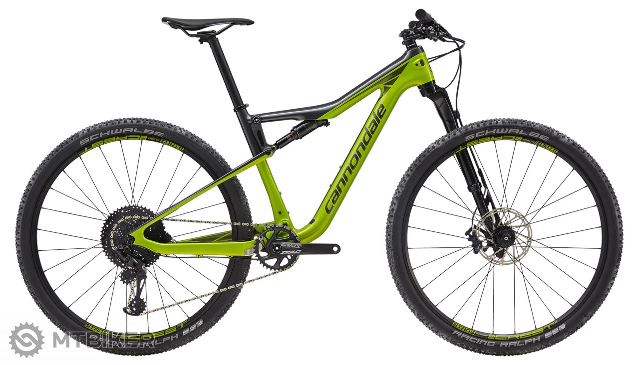 Cannondale Scalpel-Si Carbon 4 AGR horský bicykel, model 2019