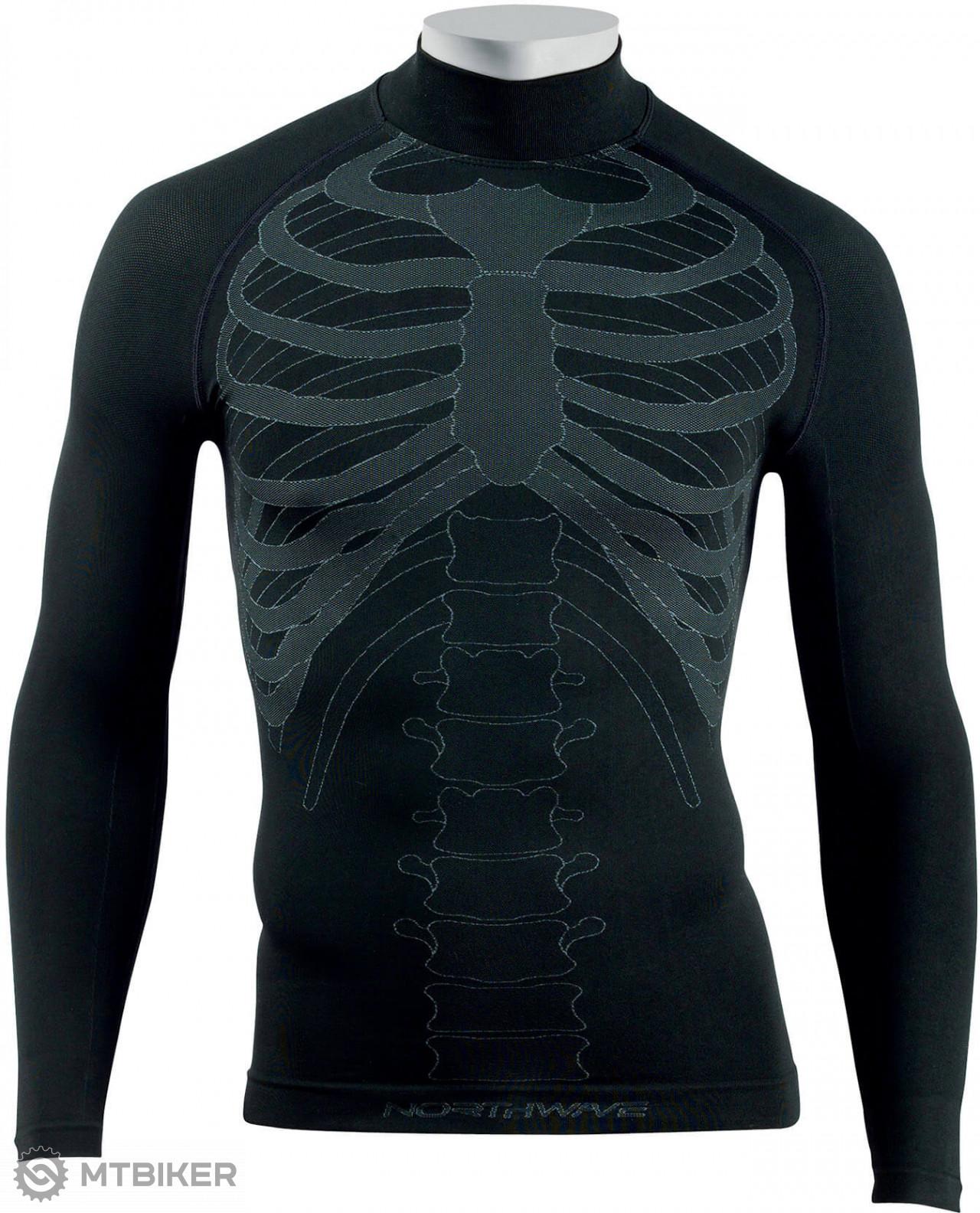 Northwave Body Fit Evo Seamless Jersey funkčné tričko L/S čierne