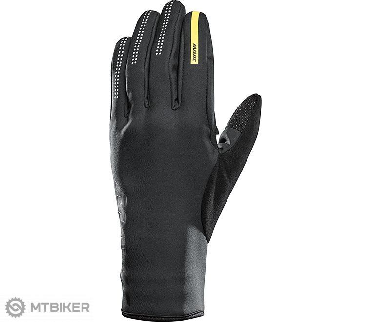 fef318468786e Mavic Essential Thermo dlhé pánske cyklistické rukavice black/black 2018
