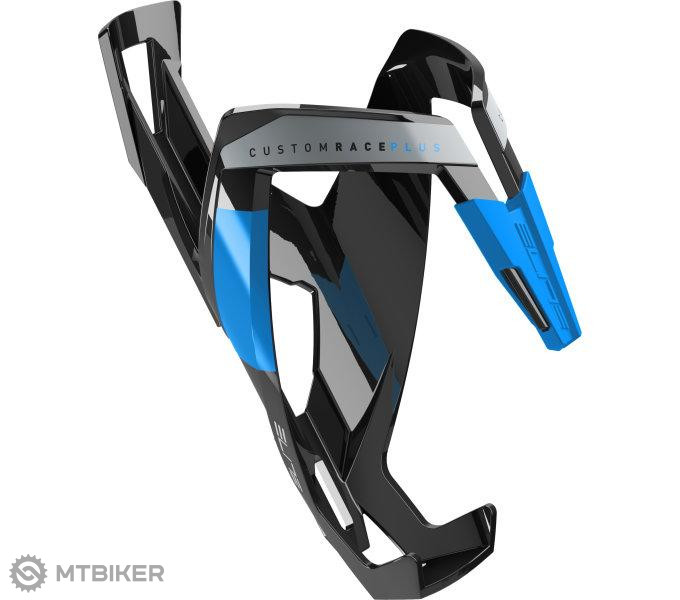 Elite košík CUSTOM RACE PLUS čierno/modrý lesklý